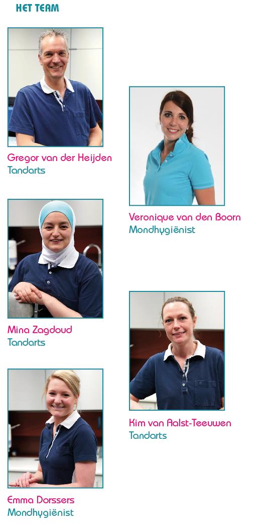 Team Kindertandverzorging Limburg